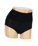 Carol Wior Rear Enhancing Control Panty in Black, Large - $15.83