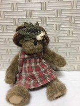 "Boyd's Bears Lizzie Archive Collection Plush Bear 10"" Adjust legs Arms P... - $7.69"