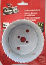 "Vermont American 18552 3-1/4"" Bi-metal Hole Saw - $5.45"