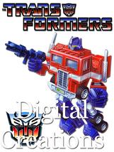 Transformers T-shirt Transfer Design Printable DIY INSTANT DOWNLOAD Prim... - $2.99