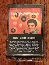 ELVIS GOLDEN RECORDS CASSETTE TAPE ~ STILL FACTORY SEALED ~ NEAR MINT ~ ... - $84.15