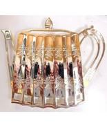 Godinger Silver 1992 Teapot Trivet Museum Re-Creations - $9.77