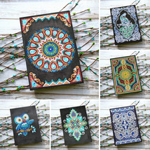 A5 Diamond Notebook 64 Pages DIY Diamond Painting Art Cover Diary Journal - $27.00