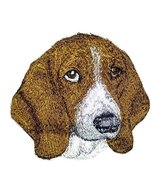 Amazing Dog Faces[ Basset Hound Dog Face] Embroidery Iron On/Sew patch [... - $7.91