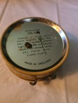Vintage Propert's Leather & Saddle Soap Tin England has Cloth and Soap image 8