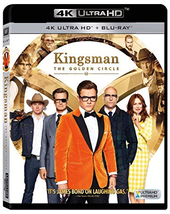 Kingsman 2: The Golden Circle [4K Ultra HD + Blu-ray, 2018)