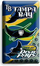 TAMPA BAY DEVIL RAYS BASEBALL TEAM PHONE TELEPHONE COVER PLATE MAN CAVE ... - $11.99