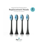 Pur-Well Living Pur-Hydro 4 Replacement Toothbrush Heads (Dupont Bristles) - $19.99