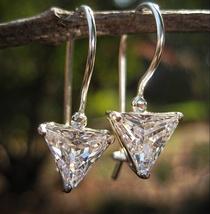 Haunted Vampire SUPER POWER XXX 925 dangle earrings Moonstar7spirits EXC... - $33.33