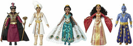 Disney Aladdin Agrabah Collection with 5 Fashion Dolls Live-Action Movie... - $94.00