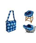 Floppy Seat Ultra Plush Shopping Cart and High Chair Cover with Bag in S... - $47.49