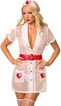 Naughty Nurse Heartstopper Sexy Adult Deluxe Costume Set