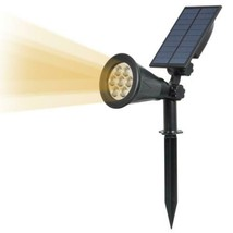 T-SUN 7 LED Solaire Projecteur, 2 en 1 Lampe Solaire, Blanc Chaud 3000K,... - $33.61