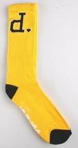 Diamond Supply Co. Bright Yellow Black Un-Polo Crew Socks NEW
