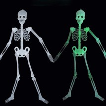 Luminous Skull Ghost Evil Skeleton Light In The Dark Halloween Decoratio... - $79,30 MXN
