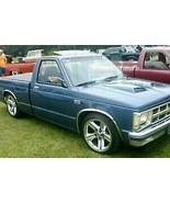 For Chevy S10 1994-2002 QMI Polished Stainless Steel Fender Trim Molding - $102.99