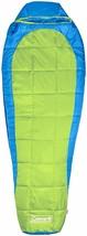 Coleman Kompact Sleeping Bag 25D Mummy Camping Hunting Tiger Lily GREEN- - $92.97