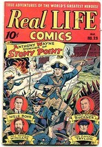 REAL LIFE COMICS #29-ALEX SCHOMBURG-ATOM BOMB -HITLER-- VG/FN - $75.66