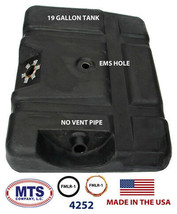 PLASTIC FUEL TANK MTS 4252 FITS 80-84 FORD PICKUP 19GAL MOUNTED BEHIND REAR AXLE image 2