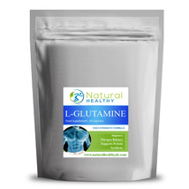 60 L-Glutamine, Helps Maintain Cell Volume and Hydration - Energy booster - $6.96