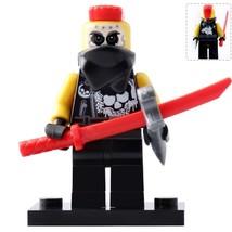 Chopper Maroon Ninjago Temple of Resurrection Minifigures Toy Gift  - $2.80