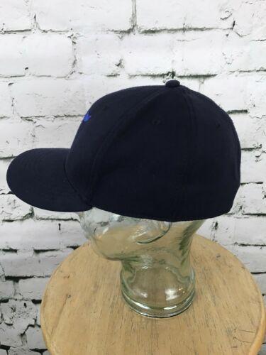 Navy Blue Otto Flex Fit Ball Cap Mens Hat