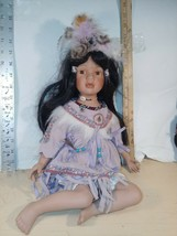 Rare Springer's American Indian Sitting Girl Doll numbered 30/1000 - $14.00