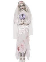 Till Death Do Us Part Zombie Bride Costume, UK Dress 16-18 - $64.73