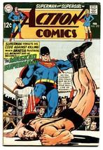 ACTION COMICS #372 comic book-SUPERMAN-WRESTLING COVER - $20.18
