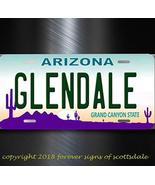 Glendale Arizona State City College Aluminum Vanity License Plate Tag - $12.69