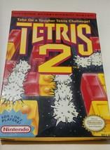 Tetris 2 Nintendo Video Game with Box, Manual, Sleeve, Untested NES-TS-U... - $26.99