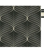 Grace & Gardenia G08C8005 Risky Hyponotic Black Wallpaper - $39.75