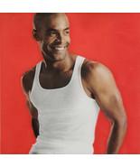 "Hanes Men's White Tank Tops Tagless Undershirts Comfort Soft Med 38-40"" ... - $9.88"