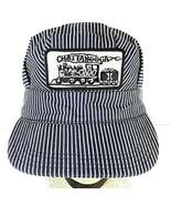 Vintage Chattanooga Choo-Choo Train Conductors Hat RailRoad Striped Cap ... - $14.95