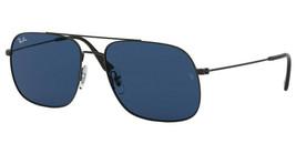NEW Ray Ban RB-3595-901480 Black Sunglasses - $98.04