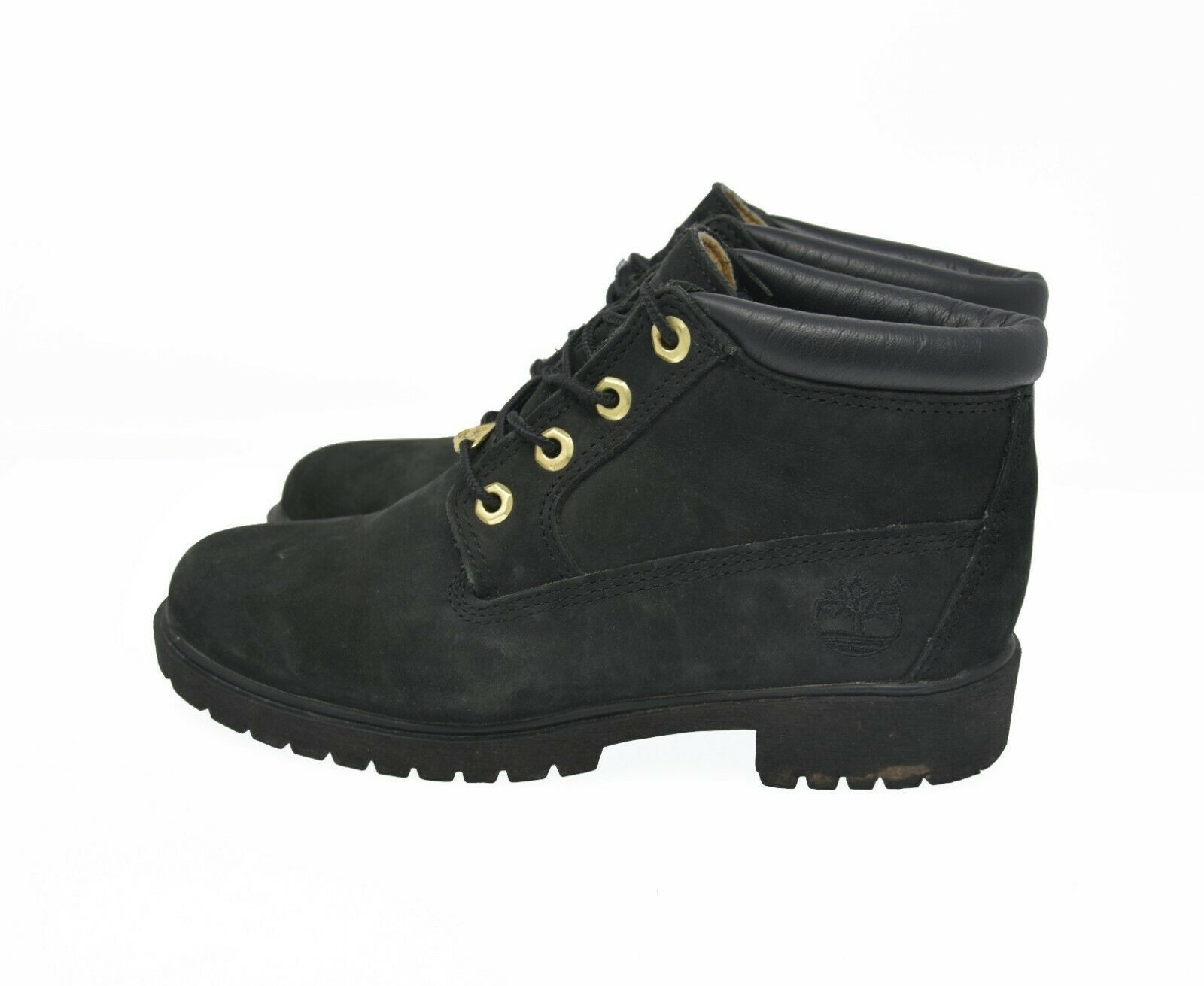 Timberland Sz 7M Black Suede Leather Boots and 50 similar items