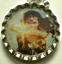 Wonder Woman Coke Sprite Diet pepsi & more Soda beer cap Keychain image 3
