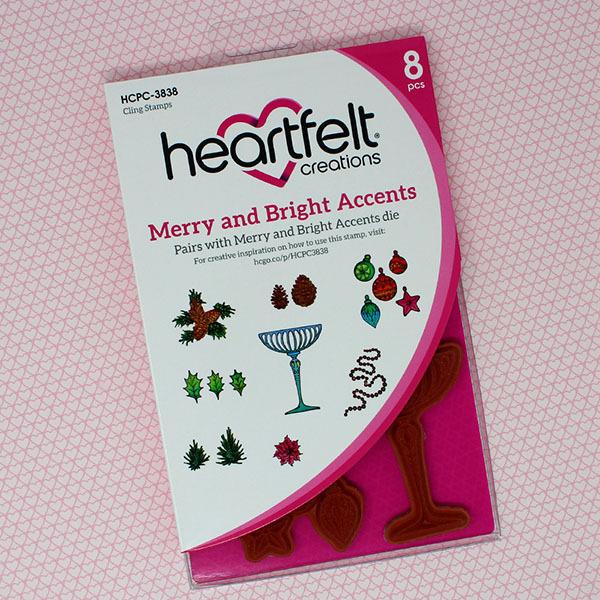 Bundle Heartfelt Creations Merry & Bright Collection 7-Piece Set, IWIA1101