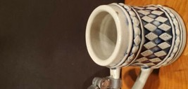 Mini Gerz German Beer Stein Germany ~ Metal Lid Excellent condition - Fa... - $24.75