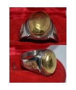 Ring Haunted PROTECTION Invulnerability Anti Black Magick Djinn Jinn Demons - $450.00