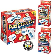 Faux-Cabulary The Wild Word Game - Complete Set Includes both party game... - $14.17