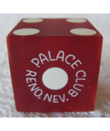 "Casino Dice From: ""The Palace Club"" of Reno, Nevada - Since 1888 - (sku#4928) - $9.99"
