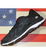 Asics Gel-Nimbus 20 Running shoe Black/White/Carbon [T801N-9001] Men Med... - $76.44