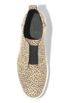 Universal Thread Women's Lilian Microsuede Leopard Print Slip on Sneakers NEW image 3