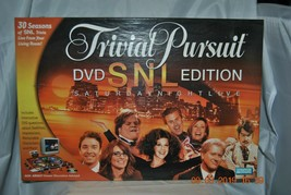 Trivial Pursuit DVD Game ~ SNL Edition ~ Saturday Night Live ~ 2004 ~ New - $28.49