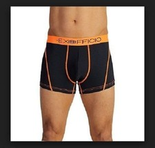 "NEW ExOfficio Give-N-Go Sport Mesh 3"" Boxer Brief -Mens Curfew Sz XL 124... - $22.91"