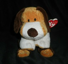 TY 2002 PLUFFIES WHIFFER THE PUPPY DOG STUFFED ANIMAL PLUSH TOY LOVEY W/... - $45.82