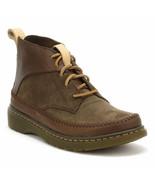 Mens Dr. Martens Flloyd Boots - Dark Brown Mesa + Waxy Suede WP US10 UK9 - $104.99