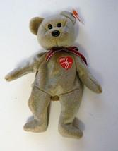 Ty Beanie Baby 1999 Signature Bear Brown Original Beanie Babies - $5.93