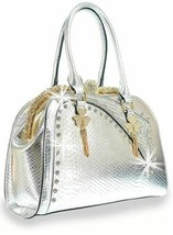 GORGEOUS BLING SILVER & GOLD PURSE HANDBAG - $55.00+